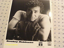 Smokey Robinson Publicity Photo