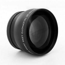 67mm 2.0X TELE Telephoto Converter Lens for Nikon Canon DSLR Camera & Camcorders