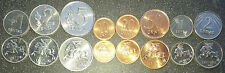Lithuania  8 coins 1 - 50 centas + 1-2 Litas 1991 Horse 1st Issue Ex URSS UNC