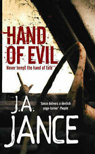 J. A. Jance Hand of Evil Very Good Book