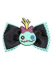 Disney Lilo & Stitch Scrump Mint Cosplay Hair Bow Tie Hair Clip New With Tags!