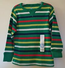 Brand New J.Khaki Striped Thermal Shirt ~ Boy's Sz 5 Year