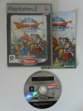 DRAGON QUEST L'ODYSSEE DU ROI MAUDIT - PLAYSTATION 2 - JEU PS2 PLATINUM COMPLET