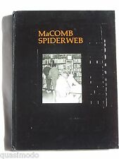 1984 MACOMB HIGH SCHOOL YEARBOOK MACOMB, ILLINOIS THE SPIDERS WEB - UNMARKED!