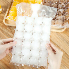 Self-sealing Ice Packs Portable Disposable Ice Cube Tray Mould Bag 10Pcs/Set