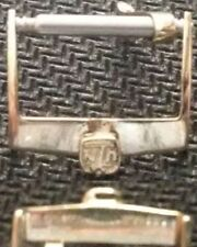 Original Ulisse Nardin Buckle Fibbia 14mm Yellow Gold Plated Very Good Cond L@@K