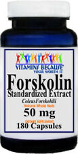 FORSKOLIN Coleus Forskohlii Weight Control 20% Extract  Max 250mg 180 capsules