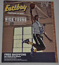 MINT! Eastbay Catalog NICK YOUNG Cover LOS ANGELES LAKERS December 2014