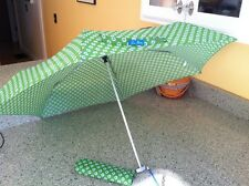 Retired Limited Ed  Vera Bradley Apple Green Umbrella, Excellent