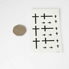 Temporary TATTOOS INDIE BODY ART TEMPORARY TATOOS cross HC46