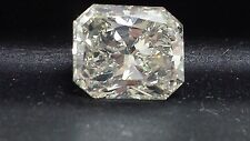 2.43ct Radiant Diamond, Excellent cut H Color VS2 Clarity Enhanced