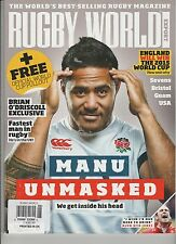 RUGBY WORLD MAGAZINE #647 JUNE 2014, THE WORLD'S BEST-SELLING RUGBY MAGAZINE