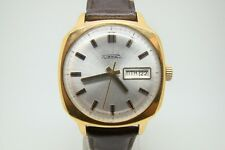 SOVIET USSR WATCH RAKETA 2627 AUTOMATIC SELF WINDING GOLD PLATED EXCELLENT VTG