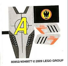 LEGO 8967 - AGENTS - Gold Tooth's Getaway - STICKER SHEET