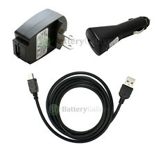 USB Cable+Car+Wall Charger for Garmin Nuvi 1300 1450T