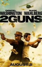 2 GUNS - 2013- orig 27x40 D/S ADV movie poster- DENZEL WASHINGTON, MARK WAHLBERG