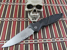 Microtech knives Vintage  Mini Socom Elite Stonewashed Folder Hard to find Model
