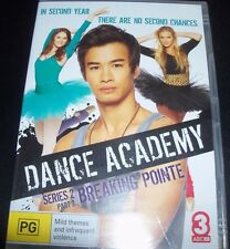 Dance Academy Series 2 Part 2 ABC DVD (Australia Region 4) DVD – New