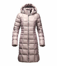 The North Face Women's METROPOLIS II Parka Down Jacket Trench Coat Quail Grey M