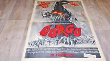 GORGO ! affiche cinema  1961 no godzilla