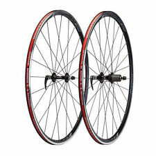 Reynolds Shadow 700c Road Bicycle Wheelset,  9/10 Speed, SS Spokes Black New!