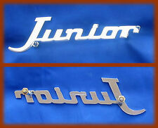 ALFA ROMEO JUNIOR Z ZAGATO - FREGIO SCRITTA BADGE JUNIOR CROMATA