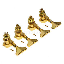4L Electric Bass Guitar String Tuning Pegs Keys Tuners Machine Heads Sealed Gold
