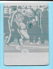 2012 Score Football #238 Jacoby Ford Cyan Printing Plate 1/1 Raiders