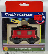 2001 LIONEL TRAIN FLASHING CABOOSE Brio / Thomas & Friends Compatible NIB