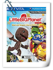 PSV SONY VITA Little Big Planet Marvel Super Hero 小小大星球 超级漫画英雄 中文版 SCE Platform