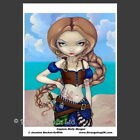 *CAPTAIN MOLLY MORGAN* Pirate Fantasy Photo Art Print By Jasmine Becket-Griffith
