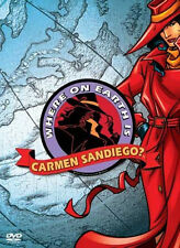 Where on Earth is Carmen Sandiego 3 DVD Gift Box disk Set complete first season