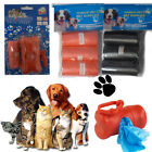 Dog Cat Poo Waste Bags Dispenser Scoop Refill Colour Poop Bag Carrier Clip Bone