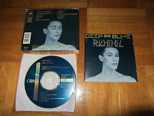 RICHENEL Deep As Blue OOP 1989 EUROPEAN CD album