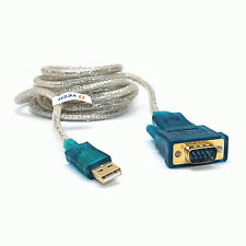 New USB to DB9 Serial Adapter Cable Lead RS232 9 PIN GPS #123