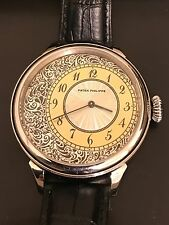 High Grade Patek Phillippe  Pocket Watch Movement In New Custom SS Case