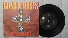 "Guns N' Roses Paradise City 7"" Solid Centre European pressing"