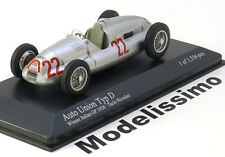 1:43 Minichamps Auto Union Type D Winner GP Italy Nuvolari 1938