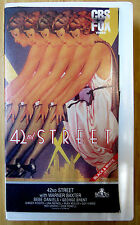 42nd STREET Warner Baxter Ruby Keeler VHS Dance Musical 1933  BLACK & WHITE