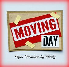 Craftecafe Mindy Moving House Title premade paper piecing scrapbook page album