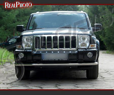 JEEP COMMANDER 2006-2010 FRONT CITY BAR +GRATIS! STAINLESS STEEL