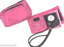 New PINK Blood Pressure Manual Monitor BP Cuff Aneroid Sphygmomanometer - #217
