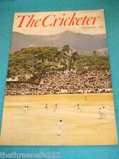 THE CRICKETER - MARCH 1974 - PORT OF SPAIN TRINIDAD (COVER)