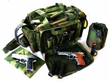 "Range bag 20"" Military CAMO NATO Tactical ® Gun Pistol duffel shoot hunt 1200D"