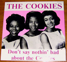 THE COOKIES - Don't say nothin' bad! Group Sound LP TEENAGER 608
