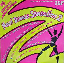 2 LP Various ‎– Maxi Dance Sensation 2 ,cleaned,Ariola ‎– 304 086