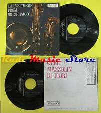 LP 45 7'' TONY AND TONY Lara's theme Dr. zhivago Quel mazzolin  no cd mc dvd