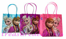 12 PCS DISNEY FROZEN ELSA ANNA OLAF GOODIE GIFT BAGS PARTY FAVORS TREAT BIRTHDAY
