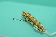 Tiffany & Co. 18k Yellow Gold Turquoise Enamel Bracelet by Jean Schlumberger