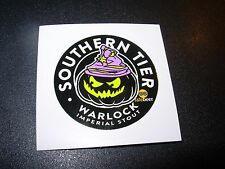SOUTHERN TIER BREWING new circle WARLOCK STICKER decal craft beer brewery